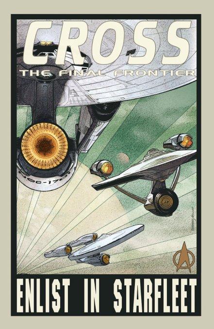 Cross the final frontier: Enlist in Starfleet